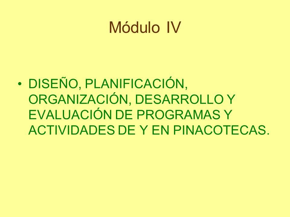El proyecto educativo del museo La propia definición y concepción de museo.
