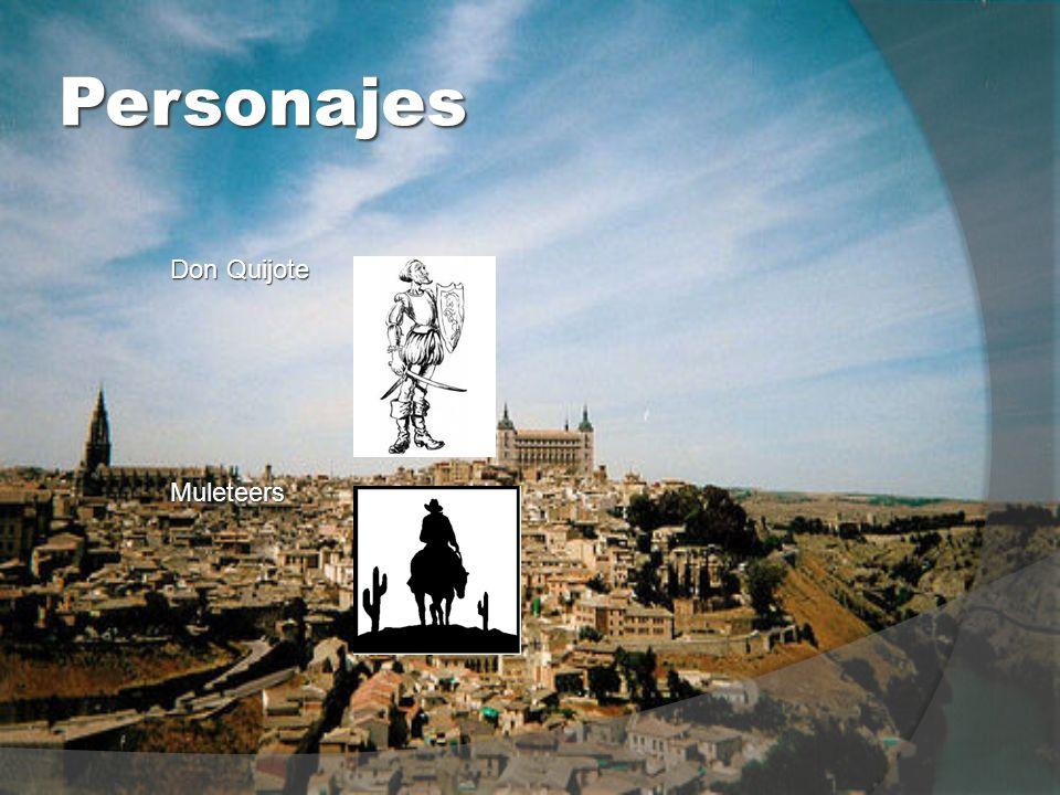 Personajes Don Quijote Muleteers