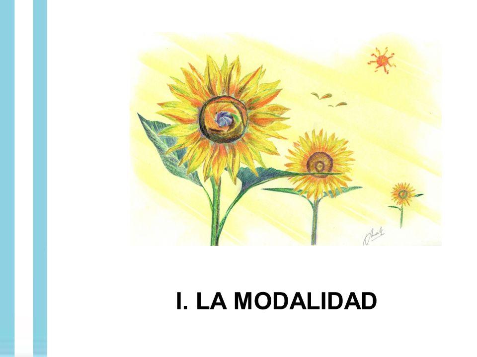 I. LA MODALIDAD