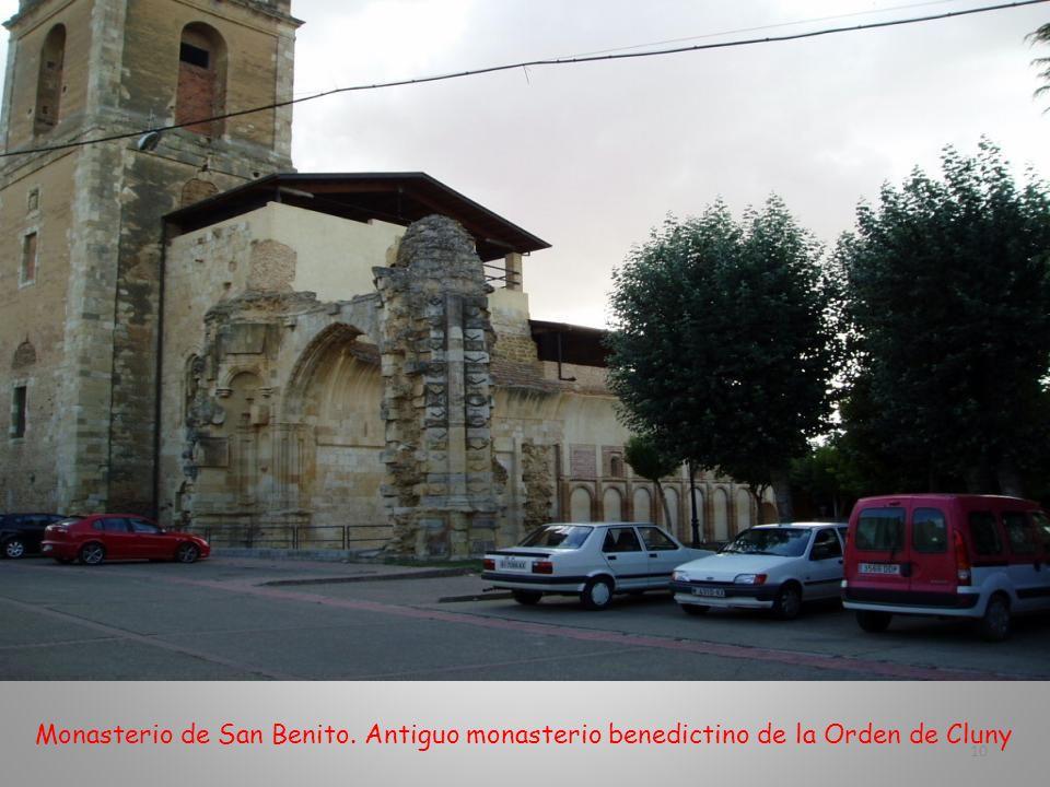 Arco de San Benito; construido en 1.662. Uno de los accesos a la iglesia del Monasterio de San Benito 9