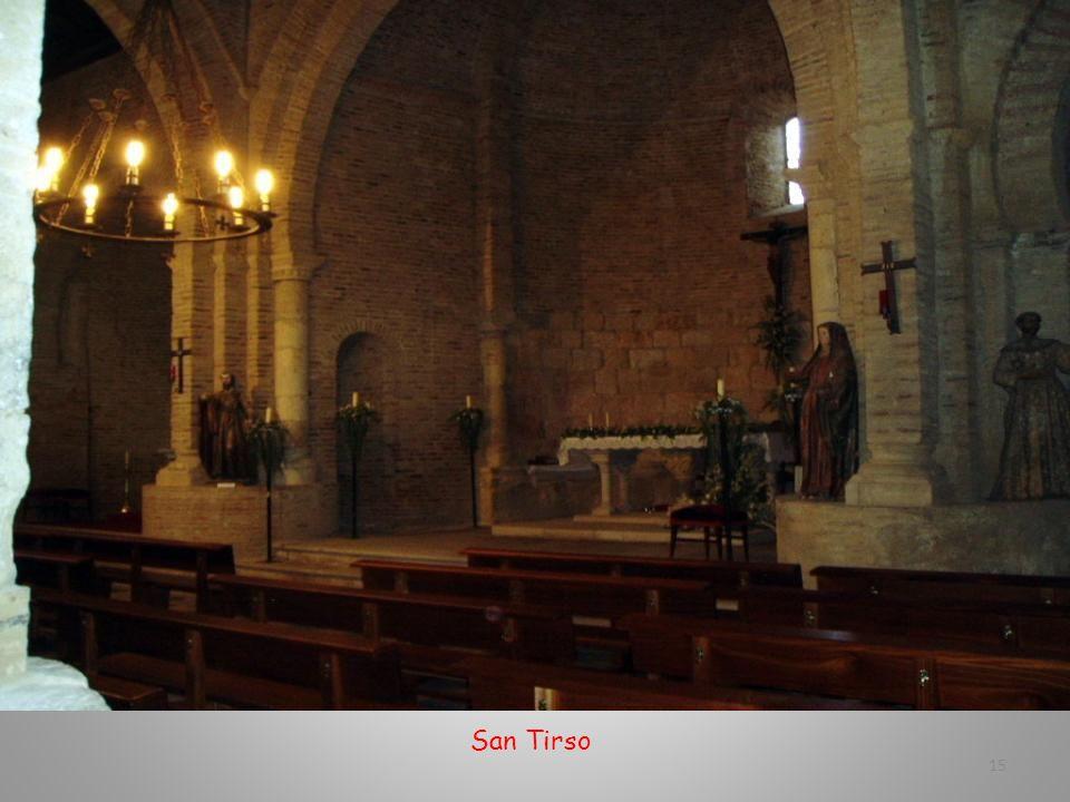 Altar mayor de San Tirso 14