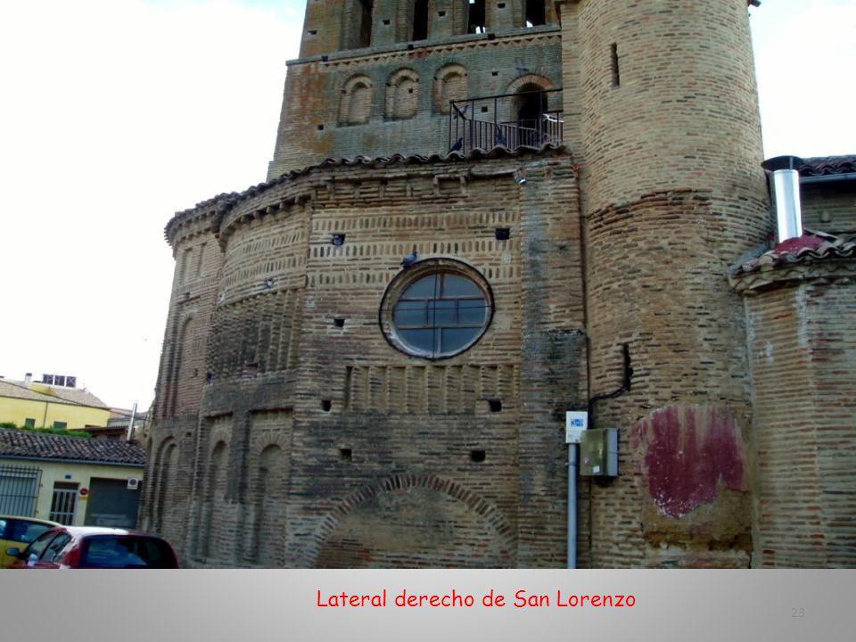 Iglesia de San Lorenzo. Es la Parroquia de la Villa. Románico mudéjar- Siglo XII 22