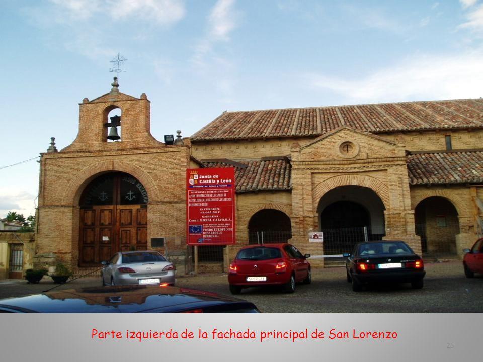 Parte Posterior de San Lorenzo. En las numerosas oquedades, las palomas han encontrado su refugio 24