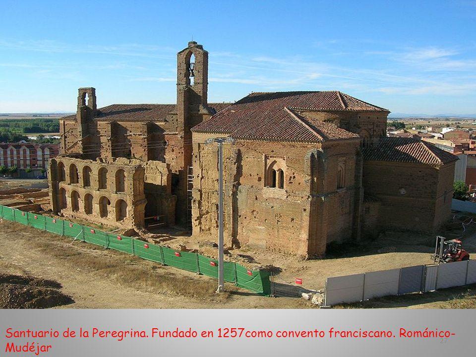 Parte derecha de la fachada de San Lorenzo 26