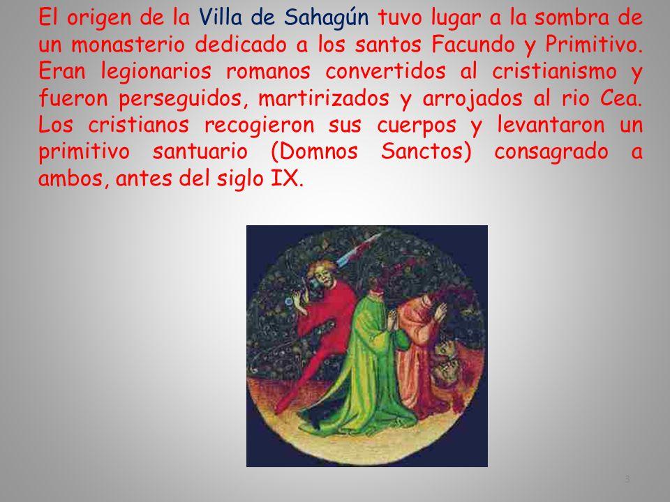 La Villa de Sahagún está situada al sureste de la provincia de León. A 60 kms. de la capital. Su patrimonio histórico y monumental, la convierten en u