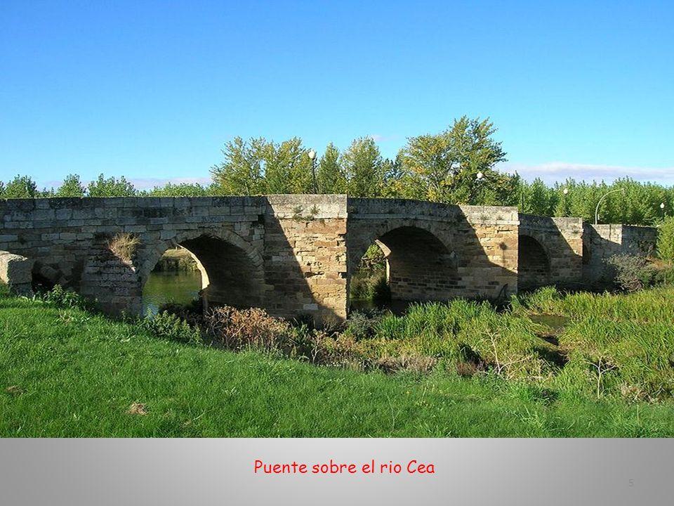 Puente sobre el rio Cea 5
