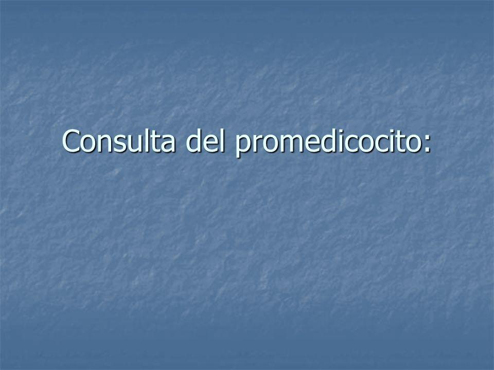 Agrupación inicial en lista de problemas preliminar: Síndrome anémico.