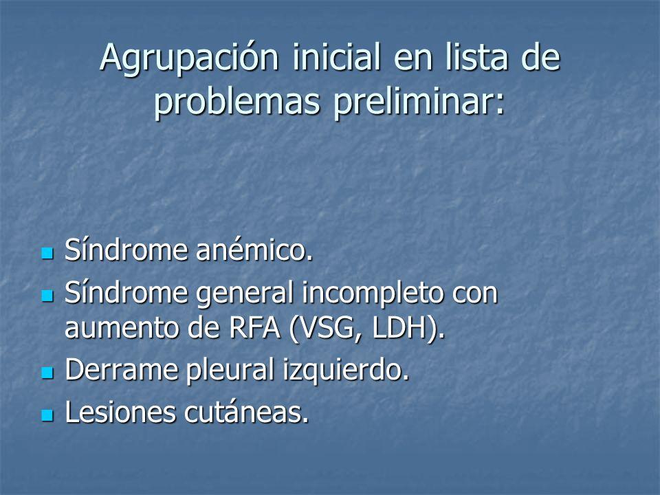 Mis pruebas: Anamnesis: Anamnesis: Refiere estreñimiento, disnea moder esf sin ortopnea y DPN.