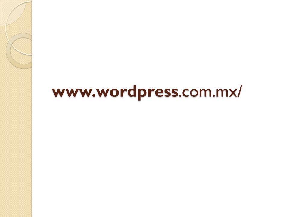 www.wordpress.com.mx/