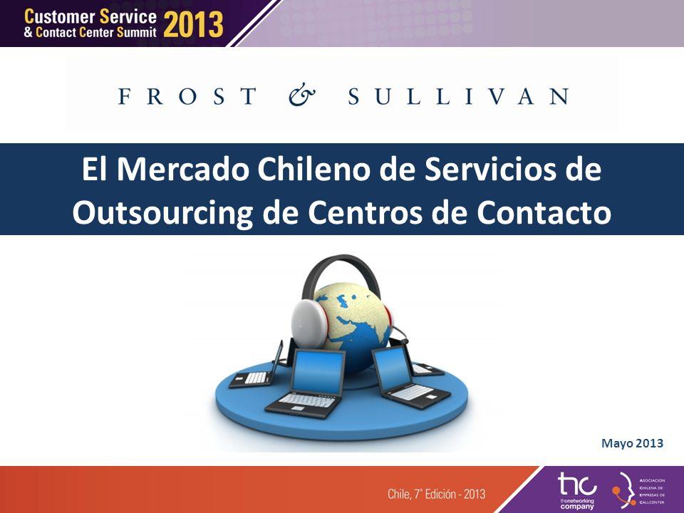 Agenda 3 3 1 1 La Industria de Outsourcing Tercerización en América Latina La Ultima Palabra 2 2 Centros de Contacto Tercerizados en Chile 4 4