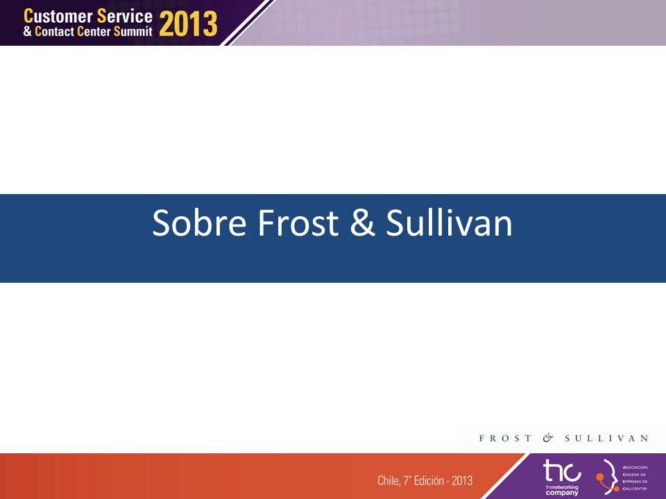Sobre Frost & Sullivan