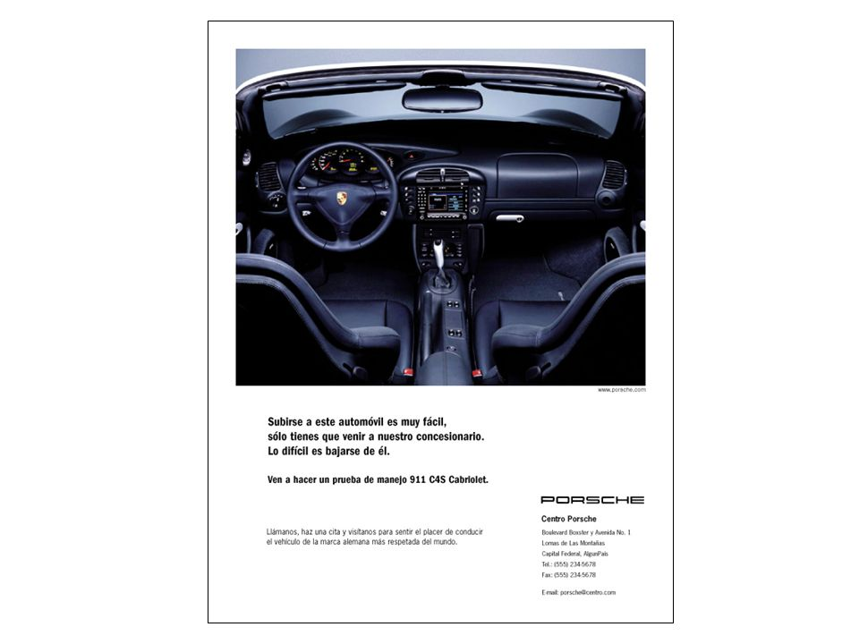 Porsche Latin America, Inc. 12 15 de junio de 2004