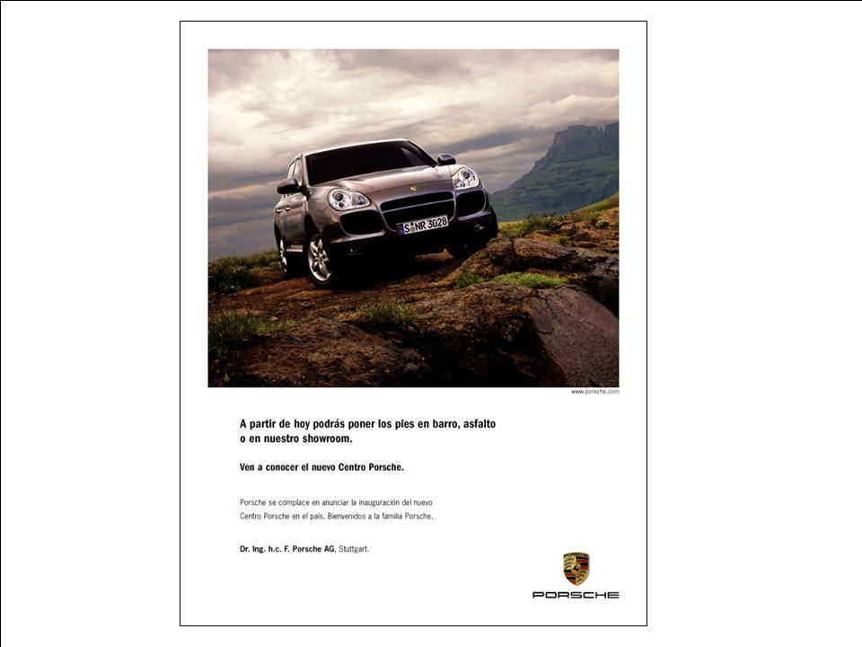 Porsche Latin America, Inc. 32 15 de junio de 2004