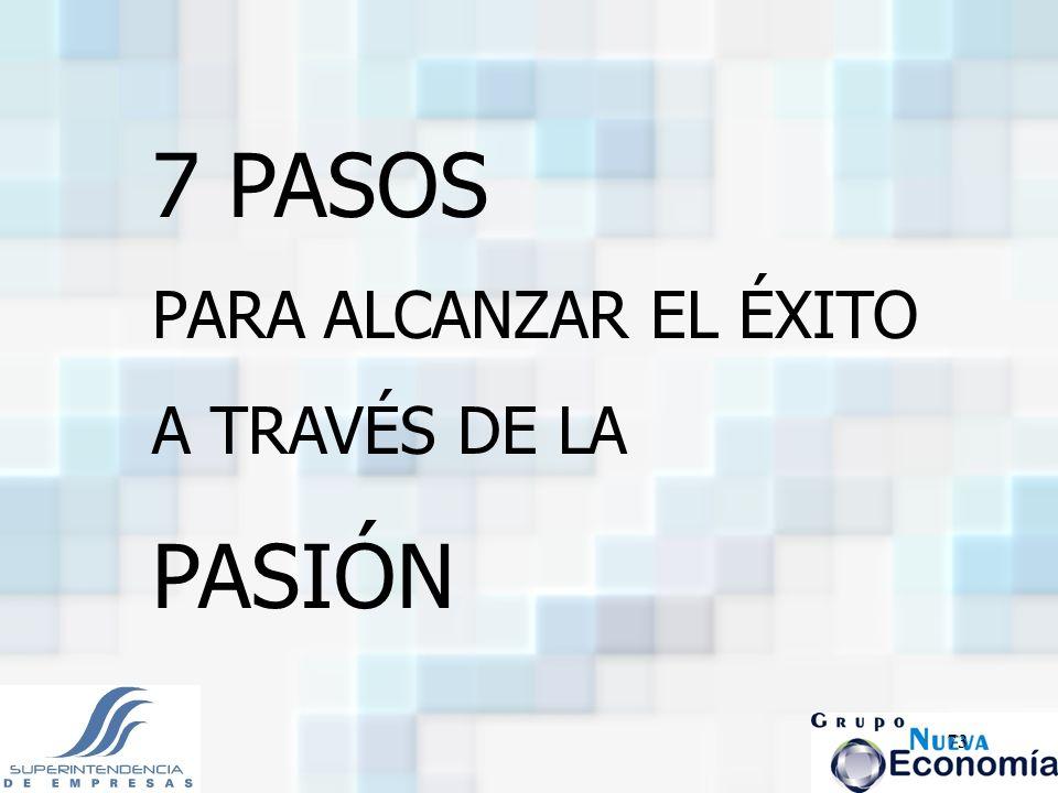 73 7 PASOS PARA ALCANZAR EL ÉXITO A TRAVÉS DE LA PASIÓN