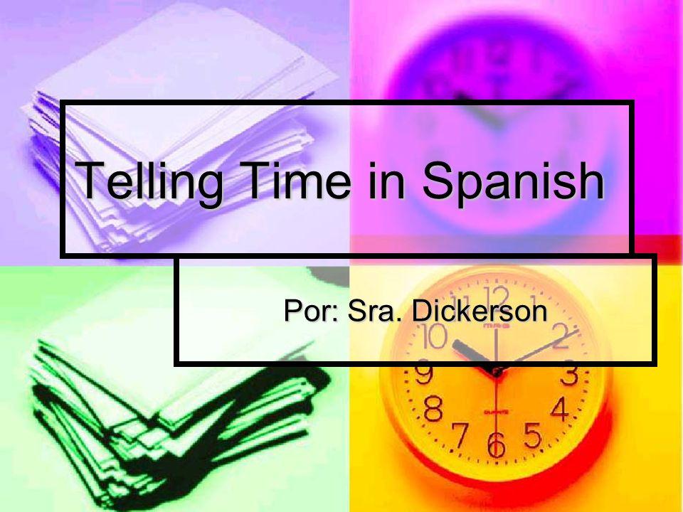 To ask what time is it, you say: ¿Qué hora es? ¿Qué hora es?