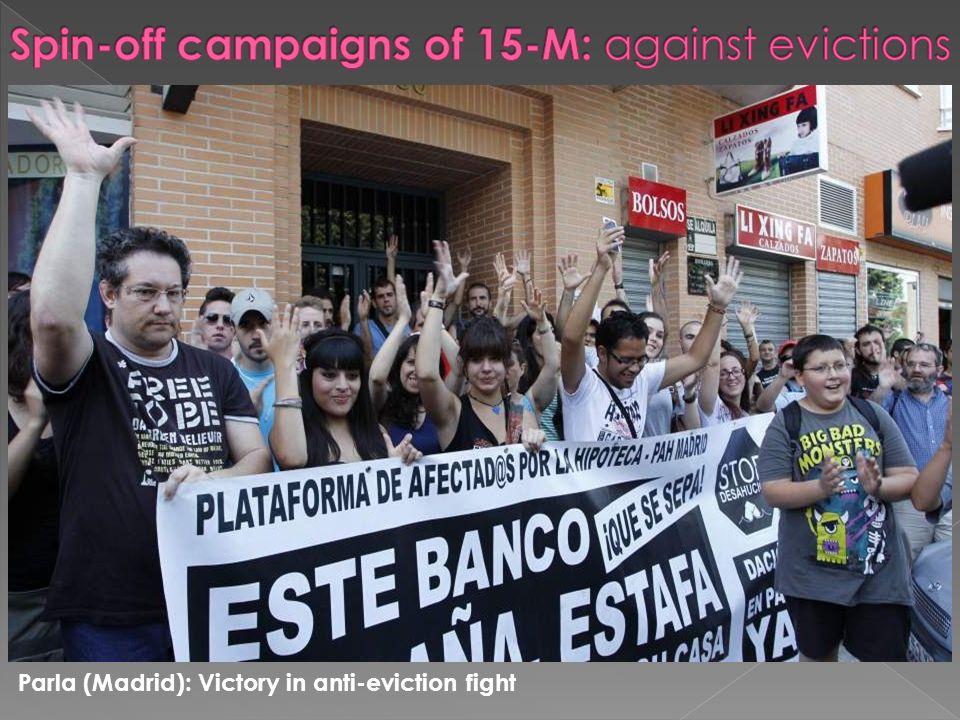 Tetuán (Madrid): Anti-eviction blockade