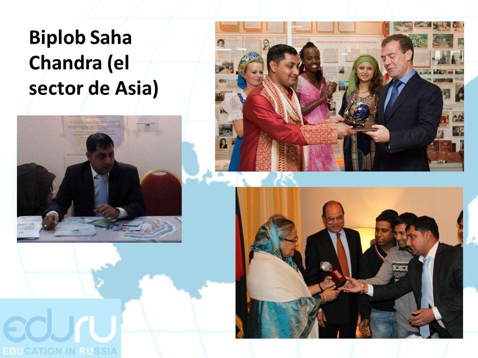 Biplob Saha Chandra (el sector de Asia)