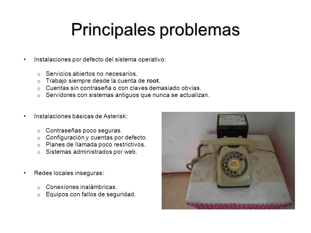 Buscando dispositivos Ejemplo: teléfono Grandstream conectado a Internet y con la contraseña por defecto: admin x-O