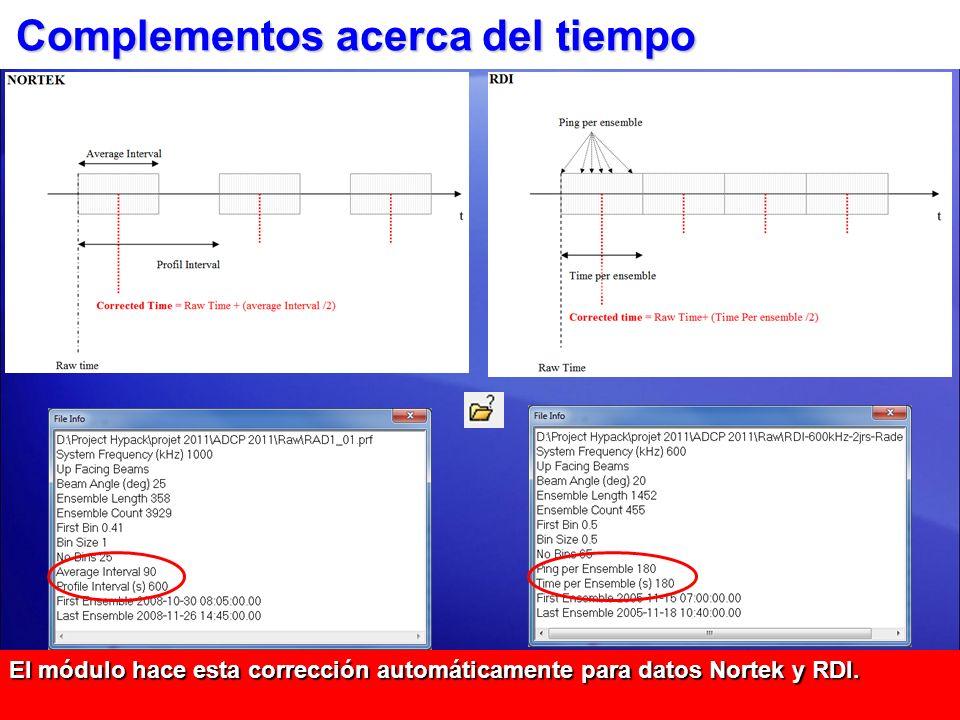 Pestaña Presión El procesamiento es llevado a cabo como sigue: Corrección Calibración.