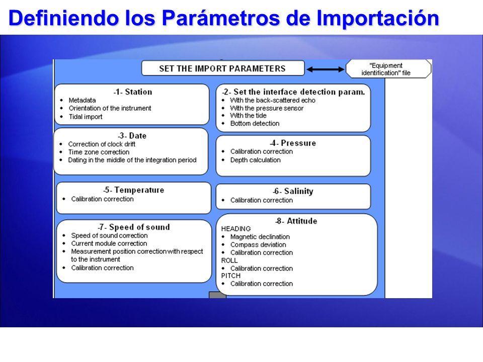 Presentación Datos y Exportar
