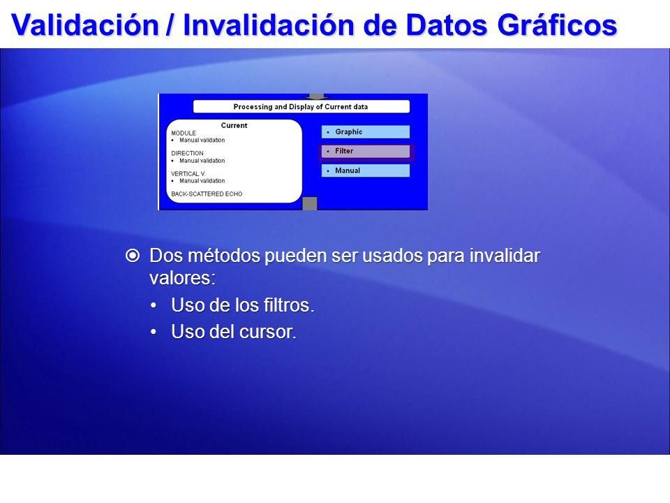 Filtrando Datos Haga clic en el ícono Filtrar.Haga clic en el ícono Filtrar.