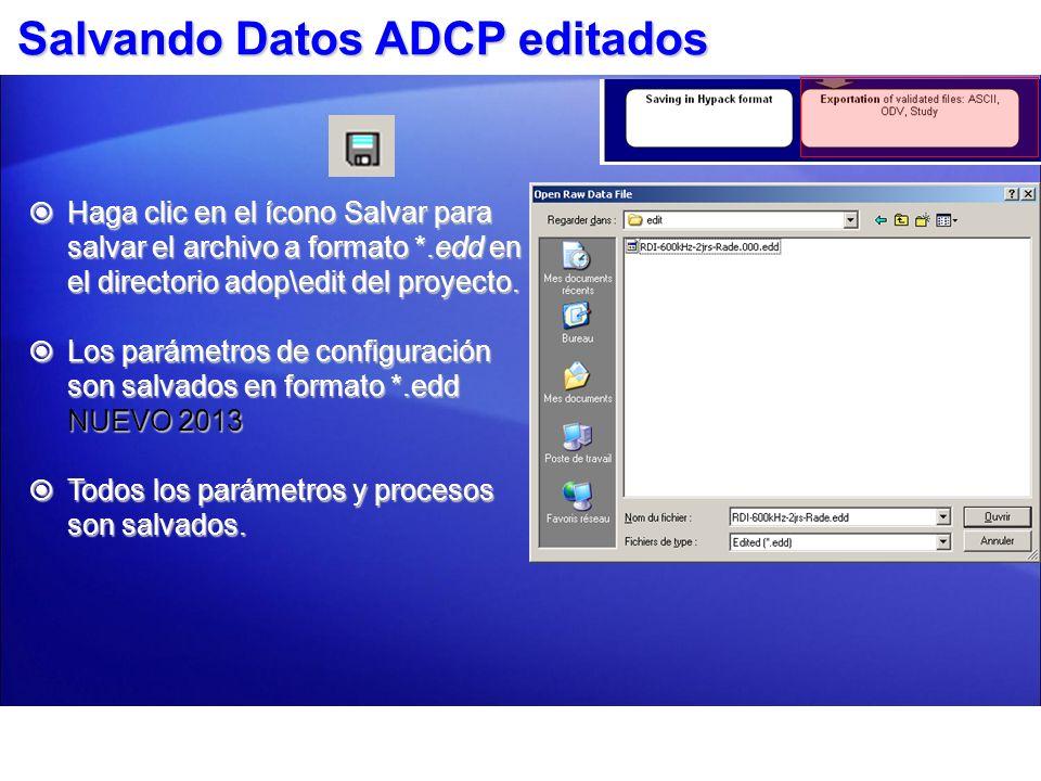Exportando su datos 1.Exportar sus datos a varios formatos al hacer clic en el ícono Exportar Fuera.