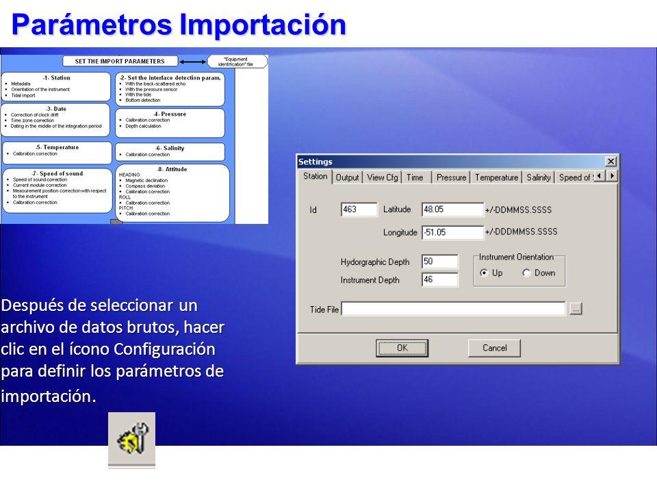 Configuración Estación Id: número serial equipo.Id: número serial equipo.