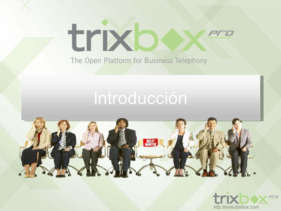 12 http://www.trixbox.com 100% Integrated HUD Presencia, Click-to-Call, Chat, CRM & Outlook Integración Arrastrar y poner Completa integración incluida!