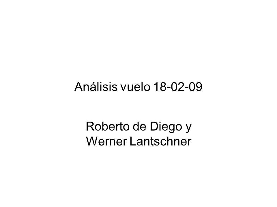 Análisis vuelo 18-02-09 Roberto de Diego y Werner Lantschner