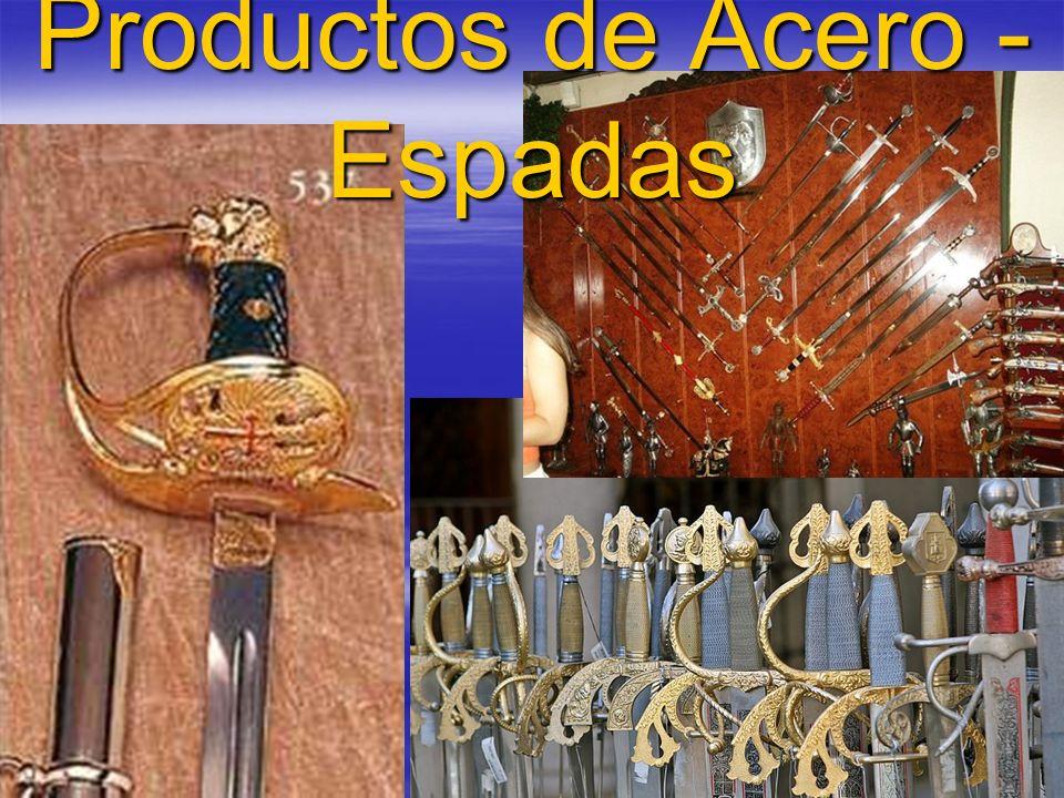 Productos de Acero - Espadas