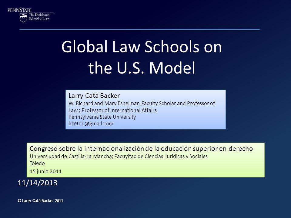 Global Law Schools on the U.S.