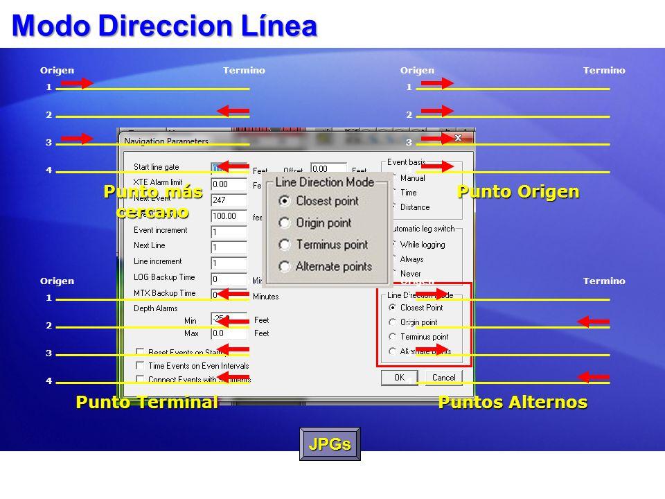 Parámetros Navegación : Otras cosas Tiempo Respaldo LOG - LOG Backup Time: Usado para prevenir archivos muy grandes y para proteger los datos en líneas largas.
