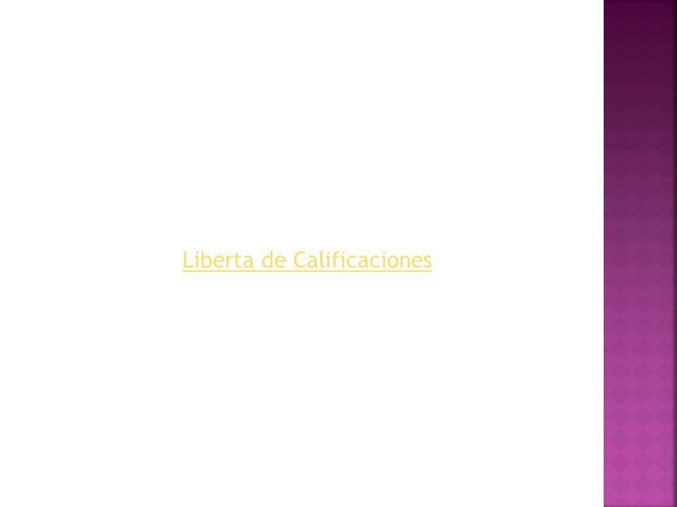 Liberta de Calificaciones