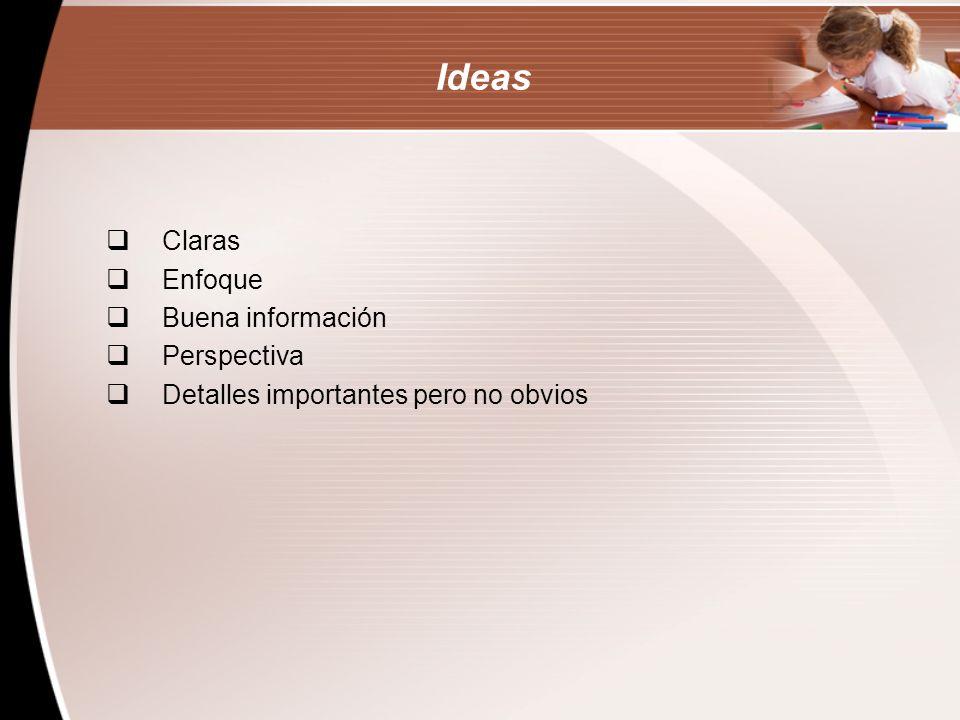 Los 6 Criterios-Ideas 5 Esta composición… A.
