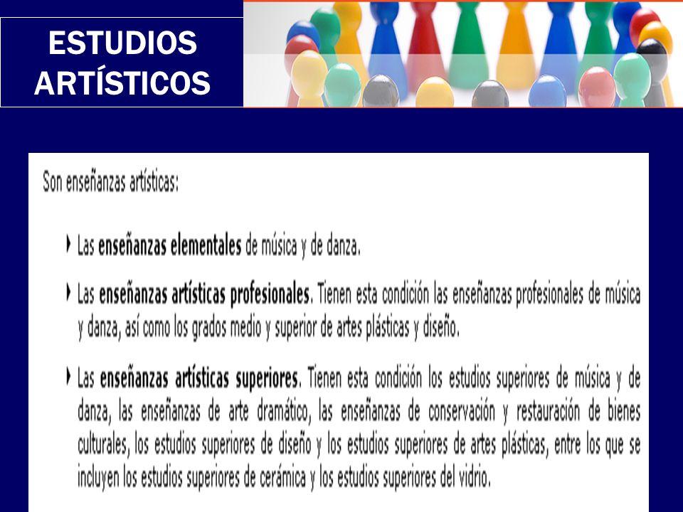 ESTUDIOS ARTÍSTICOS