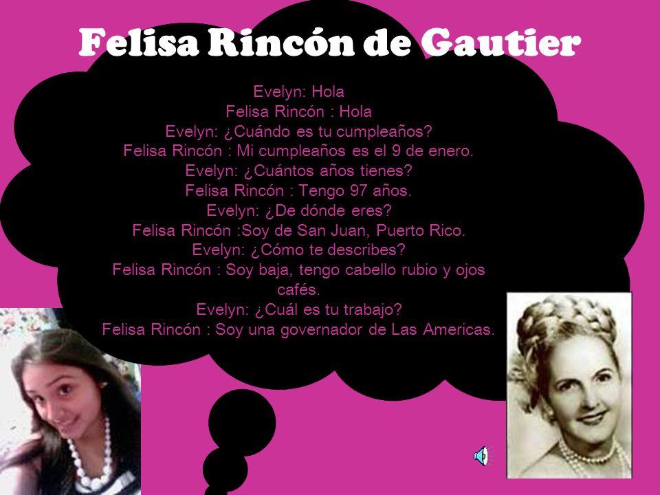 Evelyn: Hola Carmen Arroyo : Hola Evelyn: ¿Cuándo es tu cumpleaños.