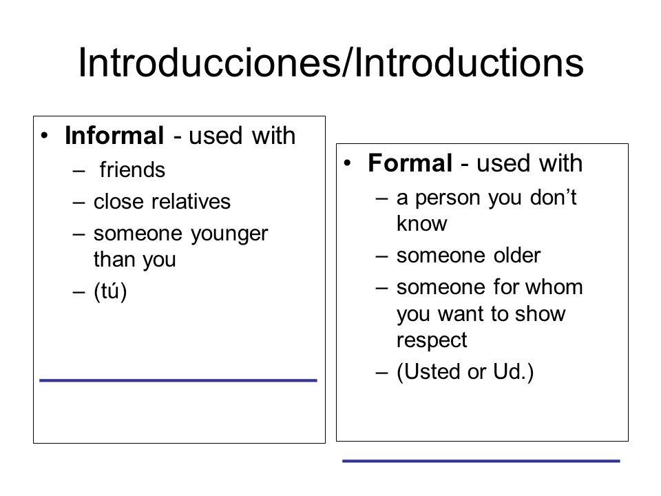Respuestas/Answering questions ¿Cómo te llamas /¿Cómo se llama Ud..
