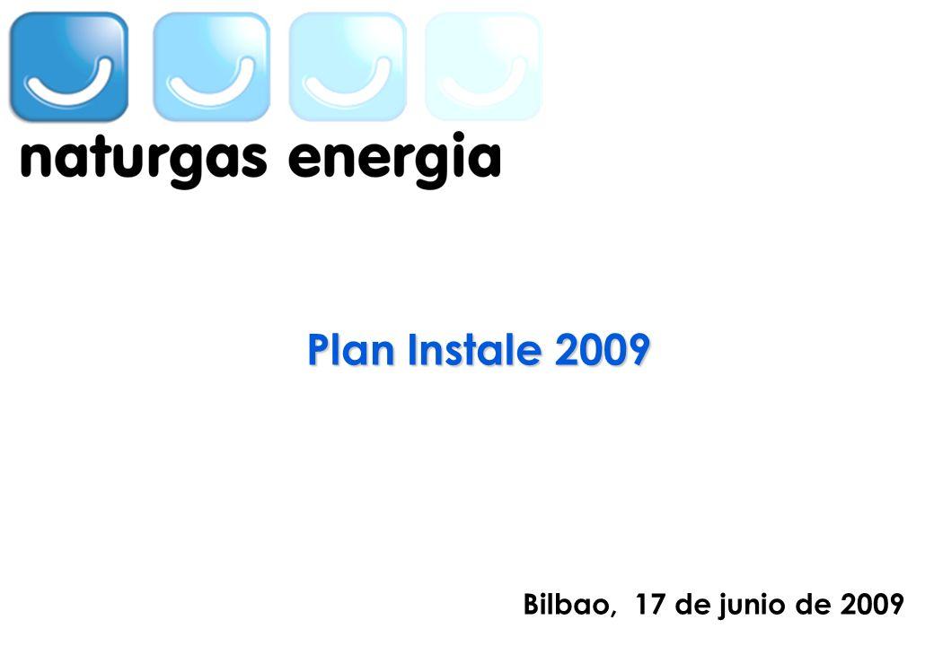 INSERTAR EN LA MASTER LA SEGUNDA MARCA Bilbao, 17 de junio de 2009 Plan Instale 2009