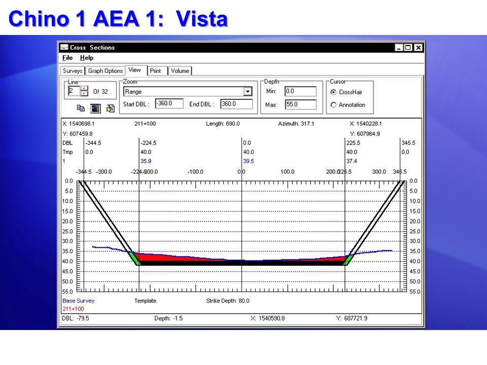 Chino 1 AEA 1: Vista