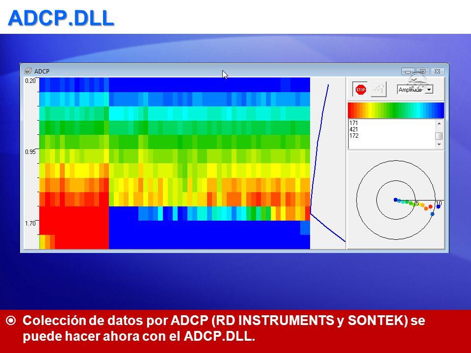 AIS.DLL: Transpondedores del Sistema Automático de Identificación Genera blancos móviles en SURVEY para mostrar las posiciones de las embarcaciones con el sistema AIS.