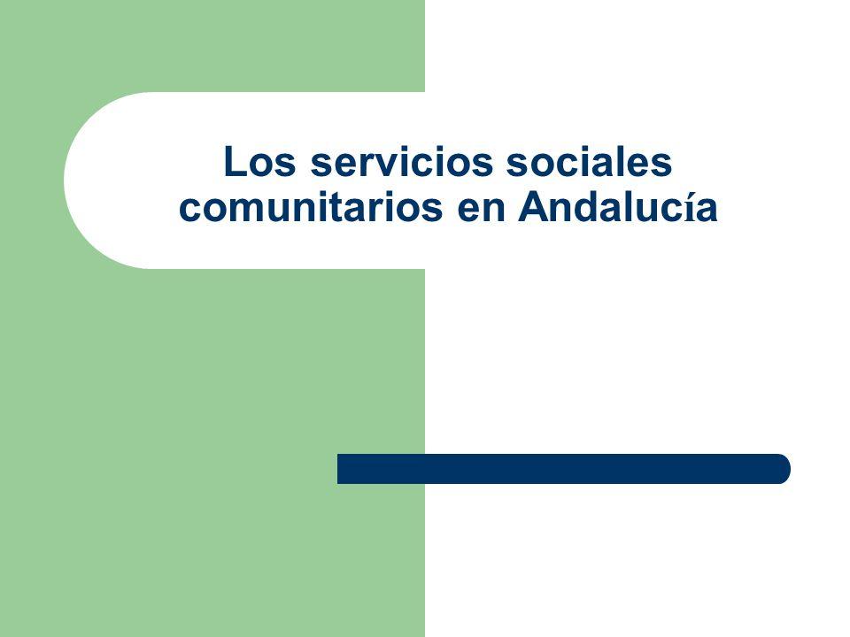 Distritos sanitarios en Andaluc í a