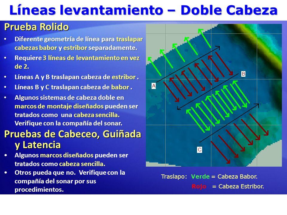 Líneas de Levantamiento – Escáner Laser Datos HYPACK® desde Escáner Laser Optech ILRIS.