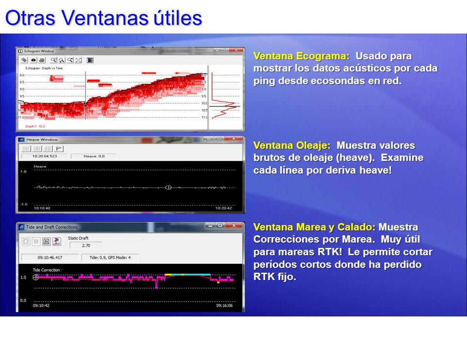 Edición Traqueos: Ventana LEVANTAMIENTO Ventana LEVANTAMIENTO Puede borrar puntos de posición mala individualmente.