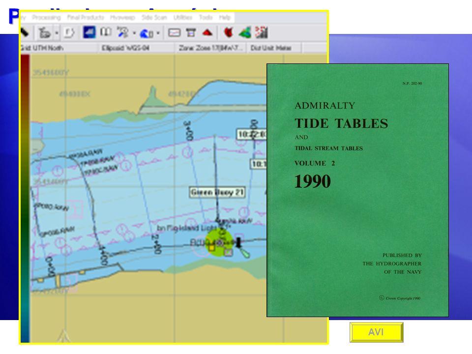 Predicciones Armónicas Use los Factores de Puerto y Día desde la Publicación NP 203 del Almirantazgo Británico. Use los Factores de Puerto y Día desde