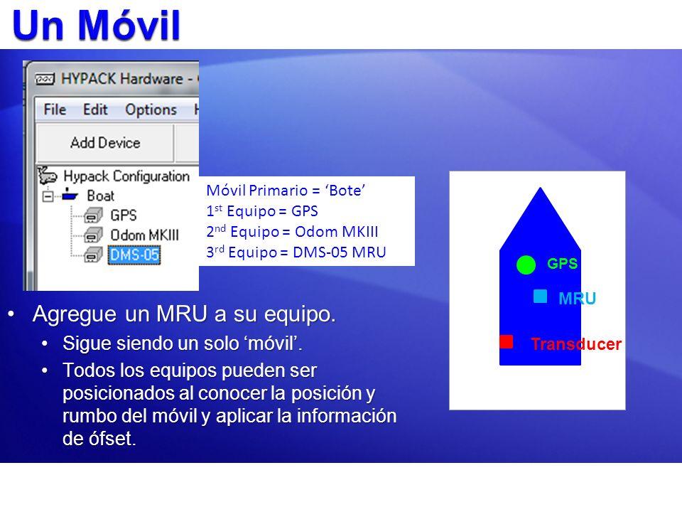 Agregue un MRU a su equipo.Agregue un MRU a su equipo. Sigue siendo un solo móvil.Sigue siendo un solo móvil. Todos los equipos pueden ser posicionado