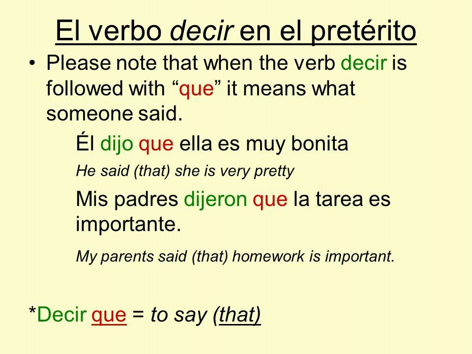 El verbo ponerse en el pretérito Hay que poner los pronombres reflexivos enfrente del verbo.