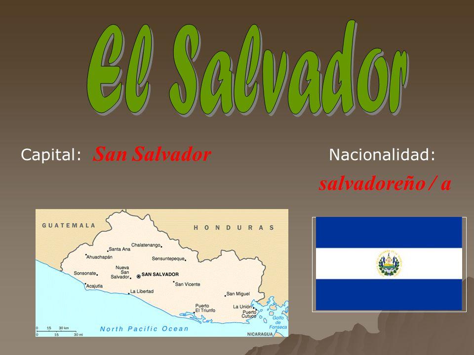 Tegucigalpa hondureño / a Capital: Nacionalidad: