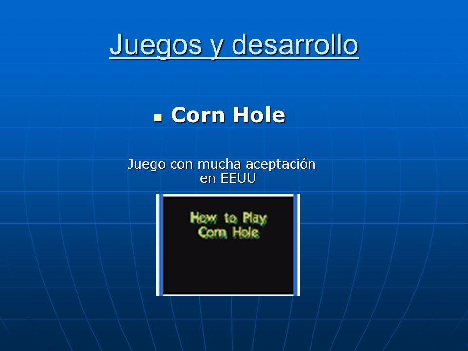Juegos y desarrollo Corn Hole Corn Hole Juego con mucha aceptación en EEUU Juego con mucha aceptación en EEUU