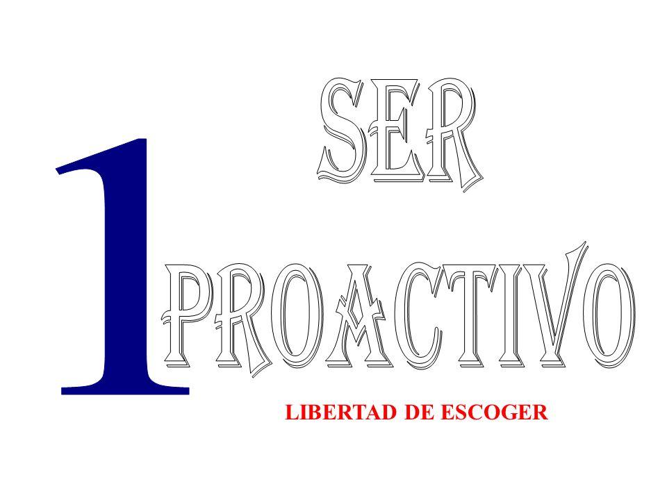 LIBERTAD DE ESCOGER