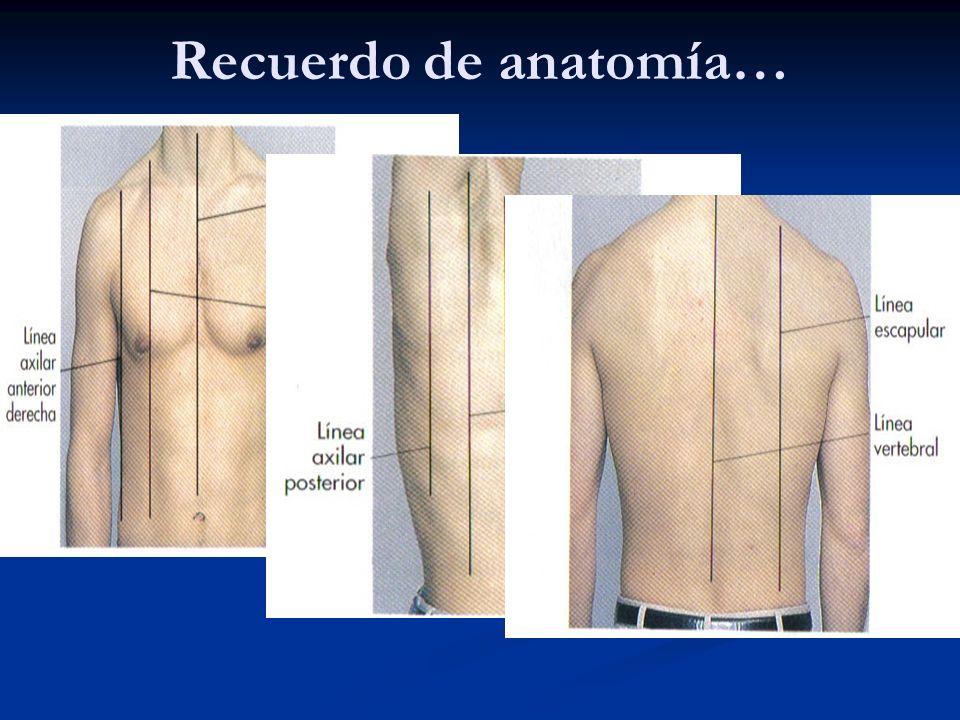 Inspección del tórax.. SINDROME VENA CAVA SUPERIOR TRAYECTOS FISTULOSOS